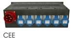 Dimmer ACTOR 616 6x3Kw cetac