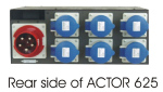 Dimmer ACTOR 625 6x5Kw